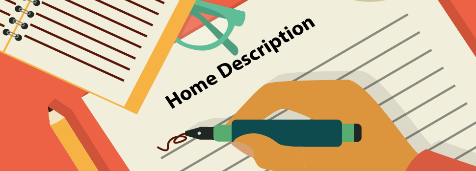 Home Sales Training - Writing Descriptions