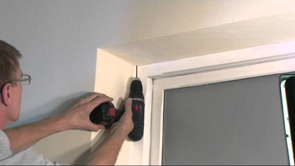 Blind Installation and Repair tip #3 - Place Mounting Marks